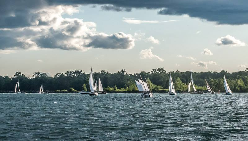 Outer Harbour sail race